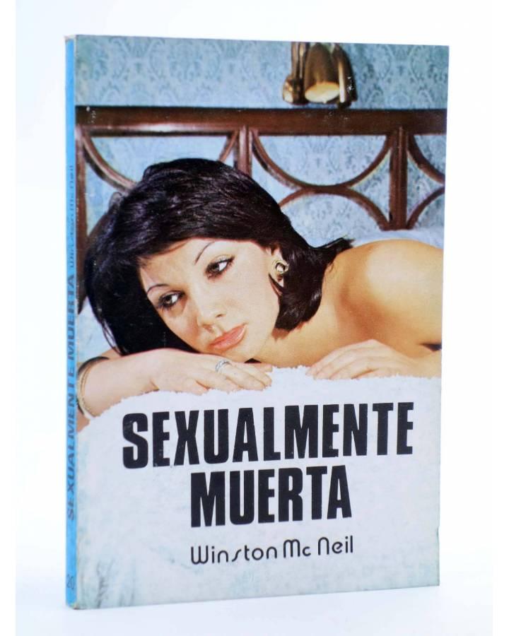 Cubierta de SEXY NOVELA 20. SEXUALMENTE MUERTA (Winston Mcneil) Producciones Editoriales 1978