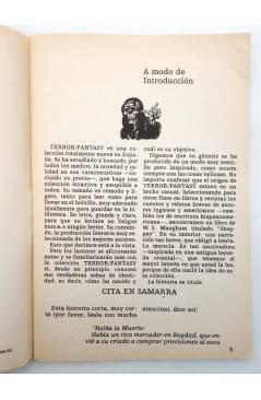 Muestra 2 de TERROR FANTASY 1. UNA TUMBA SIN NOMBRE Y OTROS RELATOS (W. Diehl) Ediprint 1982