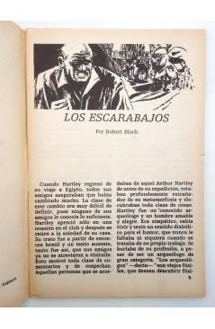 Muestra 2 de TERROR FANTASY 3. LOS ESCARABAJOS Y OTROS RELATOS (Robert Bloch) Ediprint 1982