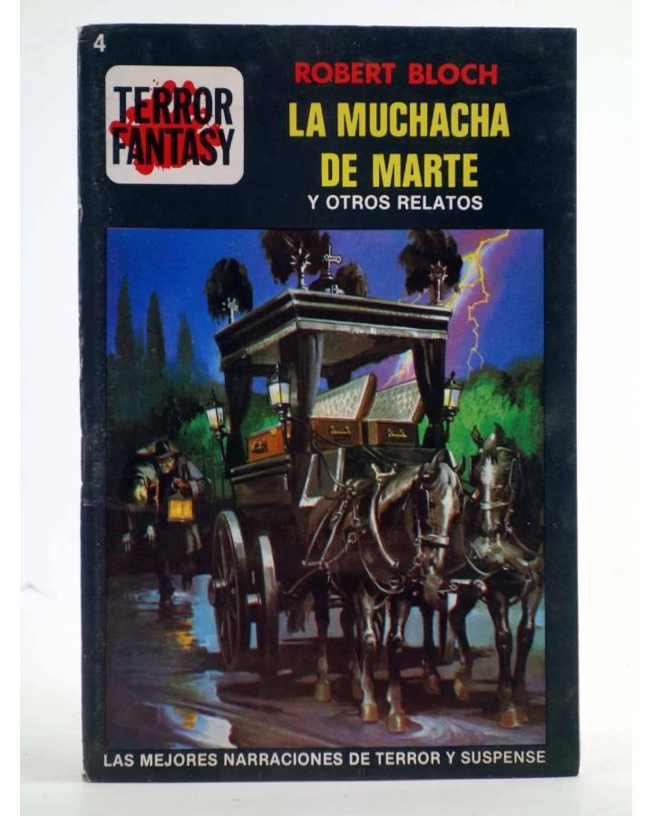 Cubierta de TERROR FANTASY 4. LA MUCHACHA DE MARTE Y OTROS RELATOS (W. Diehl) Ediprint 1982