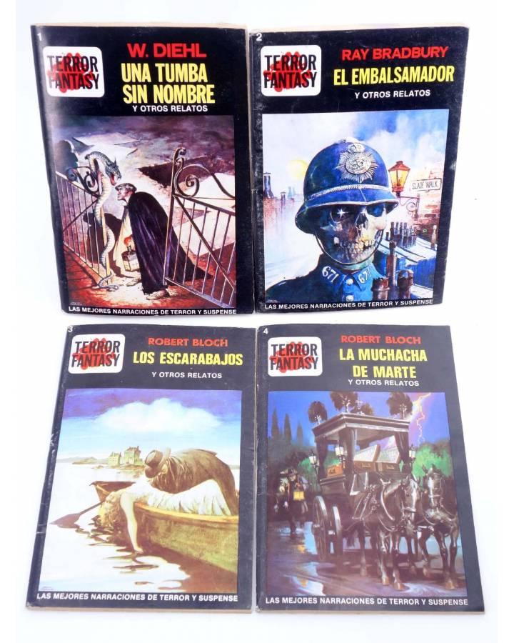 Cubierta de TERROR FANTASY 1 A 4. COLECCIÓN COMPLETA (Vvaa) Ediprint 1982