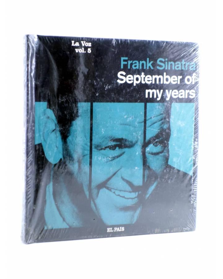 Cubierta de CD LIBRO FRANK SINATRA. LA VOZ 5. SEPTEMBER OF MY YEARS (Frank Sinatra) El País 2008