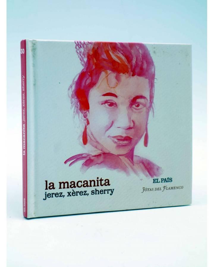 Cubierta de CD LIBRO JOYAS DEL FLAMENCO 30. JEREZ XÉREZ SHERRY (La Macanita) El País 2007