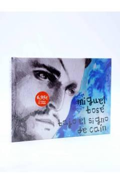 Cubierta de CD LIBRO MIGUEL BOSÉ 4. BAJO EL SIGNO DE CAÍN (Miguel Bosé) El País 2008