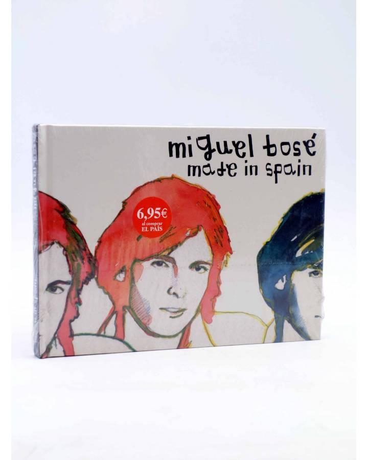 Cubierta de CD LIBRO MIGUEL BOSÉ 7. MADE IN SPAIN (Miguel Bosé) El País 2008