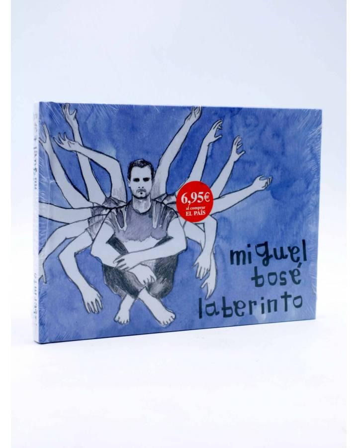 Cubierta de CD LIBRO MIGUEL BOSÉ 11. LABERINTO (Miguel Bosé) El País 2008