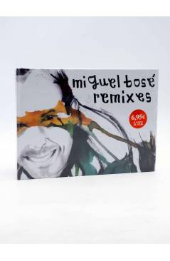 Cubierta de CD LIBRO MIGUEL BOSÉ 19. REMIXES (Miguel Bosé) El País 2008