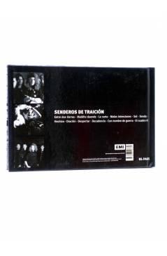 Contracubierta de CD LIBRO HÉROES DEL SILENCIO 1. SENDEROS DE TRAICIÓN (Héroes Del Silencio) El País 2007
