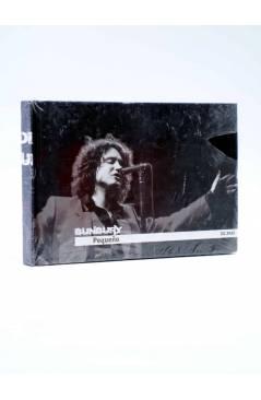 Cubierta de CD LIBRO HÉROES DEL SILENCIO 7. ENRIQUE BUNBURY: PEQUEÑO (Enrique Bunbury) El País 2007