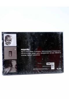 Contracubierta de CD LIBRO HÉROES DEL SILENCIO 7. ENRIQUE BUNBURY: PEQUEÑO (Enrique Bunbury) El País 2007