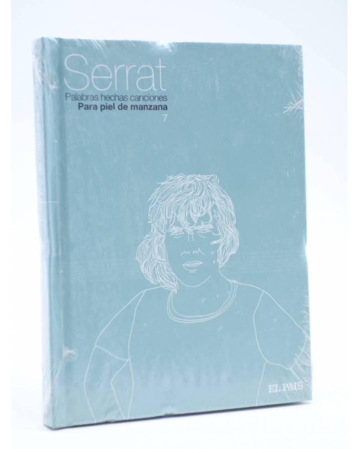 Cubierta de CD LIBRO PALABRAS HECHAS CANCIONES 7. PARA PIEL DE MANZANA (Joan Manuel Serrat) El País 2007