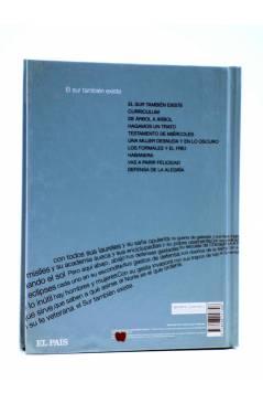 Contracubierta de CD LIBRO PALABRAS HECHAS CANCIONES 8. EL SUR TAMBIÉN EXISTE (Joan Manuel Serrat) El País 2007