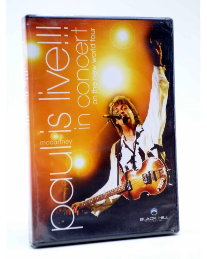 Cubierta de DVD PAUL McCARTNEY IS LIVE!! IN CONCERT ON THE NEW WORLD TOUR.. Black Hill 2003