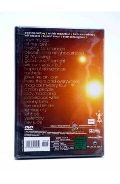 Contracubierta de DVD PAUL McCARTNEY IS LIVE!! IN CONCERT ON THE NEW WORLD TOUR.. Black Hill 2003