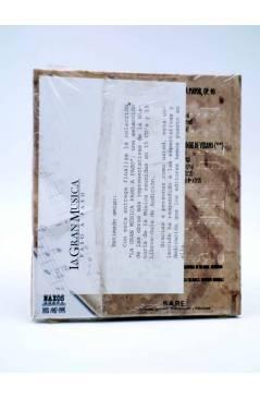 Contracubierta de LA GRAN MUSICA PASO A PASO. MENDELSSOHN. LIBRO + CD (Felix Mendelssohn) SAPE 2002