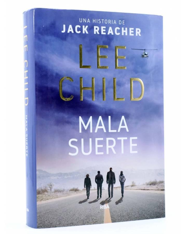 Cubierta de MALA SUERTE. SERIE JACK REACHER 11 (Lee Child) RBA 2017