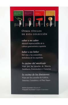 Muestra 2 de CARVALHO GASTRONÓMICO 4. LA COCINA DE LOS MEDITERRÁNEOS (Manuel Vázquez Montalbán) Zeta 2008