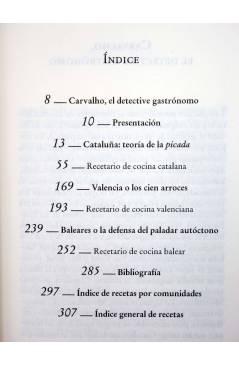Muestra 3 de CARVALHO GASTRONÓMICO 4. LA COCINA DE LOS MEDITERRÁNEOS (Manuel Vázquez Montalbán) Zeta 2008
