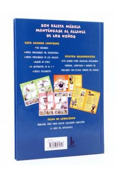 Contracubierta de MORTADELO Y FILEMÓN. AGENDA SECRETA (Fco. Ibáñez) B 2002