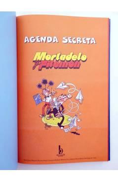 Muestra 1 de MORTADELO Y FILEMÓN. AGENDA SECRETA (Fco. Ibáñez) B 2002
