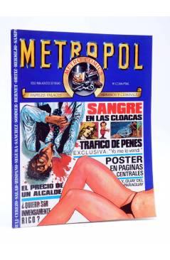 Cubierta de METROPOL 1. PAPELES URBANOS FALACES Y CRIMINALES (Vvaa) Metropol 1983