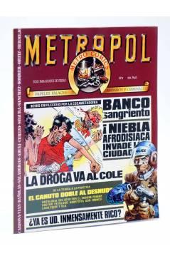 Cubierta de METROPOL 2. PAPELES URBANOS FALACES Y CRIMINALES (Vvaa) Metropol 1983