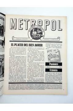 Muestra 1 de METROPOL 3. PAPELES URBANOS FALACES Y CRIMINALES (Vvaa) Metropol 1983