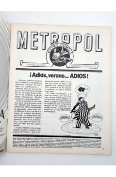 Muestra 1 de METROPOL 4. PAPELES URBANOS FALACES Y CRIMINALES (Vvaa) Metropol 1983