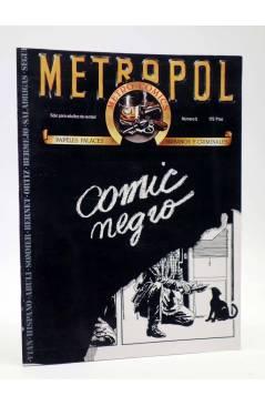 Cubierta de METROPOL 5. COMIC NEGRO (Vvaa) Metropol 1984