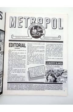 Muestra 1 de METROPOL 5. COMIC NEGRO (Vvaa) Metropol 1984
