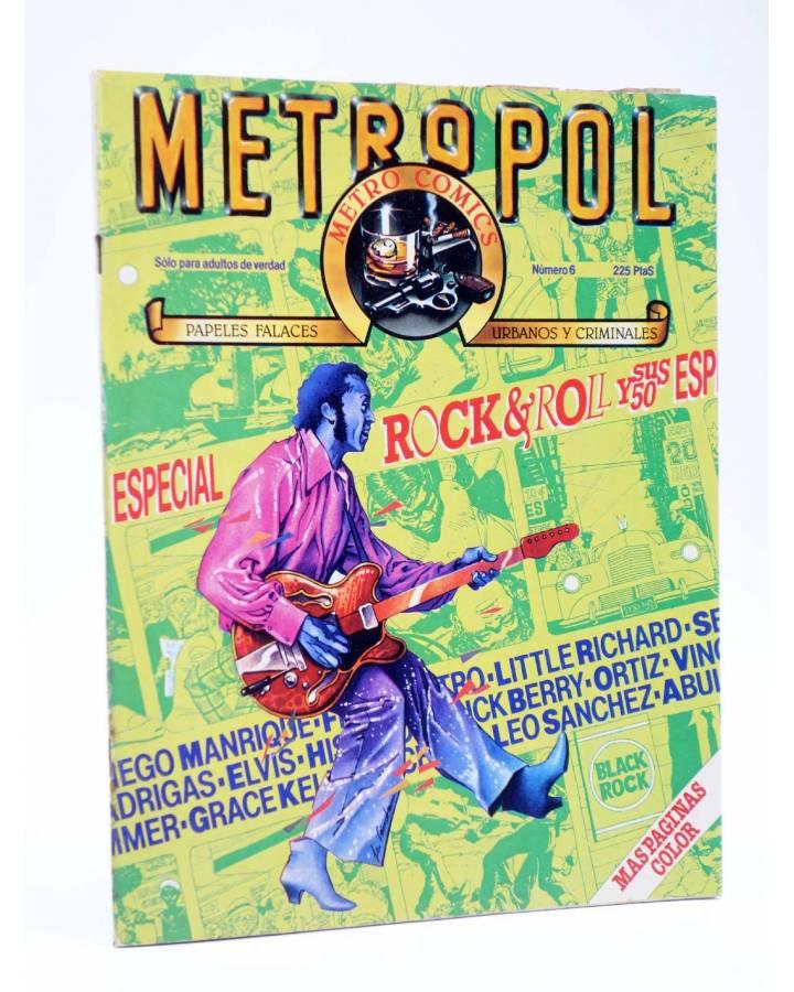 Cubierta de METROPOL 6. ESPECIAL ROCK & ROLL (Vvaa) Metropol 1984