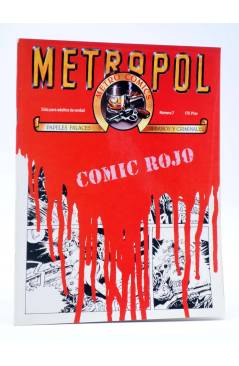 Cubierta de METROPOL 7. COMIC ROJO (Vvaa) Metropol 1984