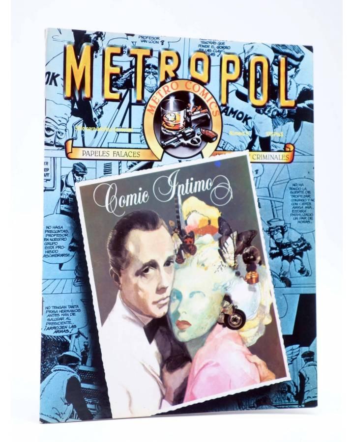 Cubierta de METROPOL 8. COMIC INTIMO (Vvaa) Metropol 1984