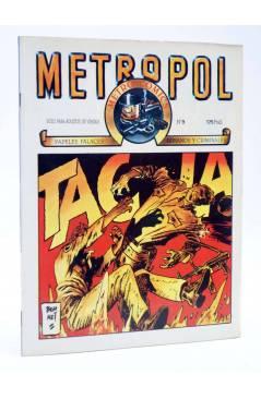 Cubierta de METROPOL 9. PAPELES URBANOS FALACES Y CRIMINALES (Vvaa) Metropol 1984