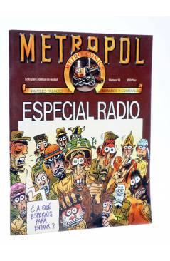 Cubierta de METROPOL 10. ESPECIAL RADIO (Vvaa) Metropol 1984