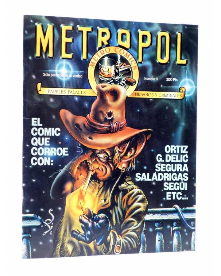 Cubierta de METROPOL 11. PAPELES URBANOS FALACES Y CRIMINALES (Vvaa) Metropol 1984