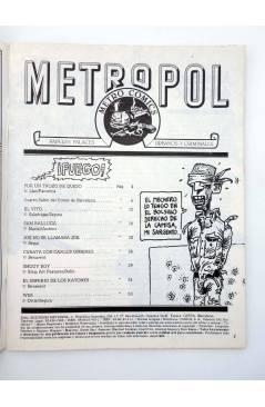 Muestra 1 de METROPOL 11. PAPELES URBANOS FALACES Y CRIMINALES (Vvaa) Metropol 1984