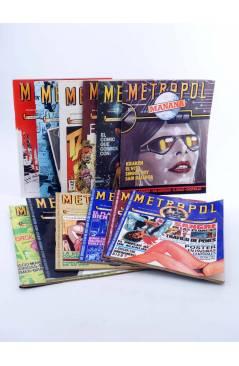 Cubierta de METROPOL. PAPELES FALACES URBANOS Y CRIMINALES 1 A 12 COMPLETA (Vvaa) Metropol 1983