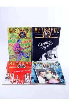 Muestra 1 de METROPOL. PAPELES FALACES URBANOS Y CRIMINALES 1 A 12 COMPLETA (Vvaa) Metropol 1983