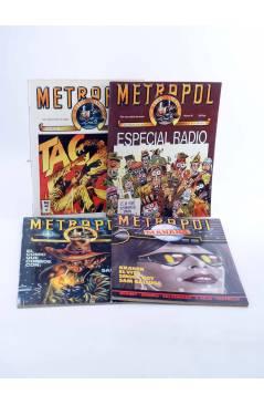 Muestra 2 de METROPOL. PAPELES FALACES URBANOS Y CRIMINALES 1 A 12 COMPLETA (Vvaa) Metropol 1983