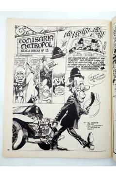 Muestra 3 de METROPOL. PAPELES FALACES URBANOS Y CRIMINALES 1 A 12 COMPLETA (Vvaa) Metropol 1983