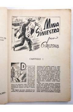 Muestra 2 de BIBLIOTECA X. NOVELAS DE VAQUEROS 29. MINA SINIESTRA (Arizona) Cies 1945