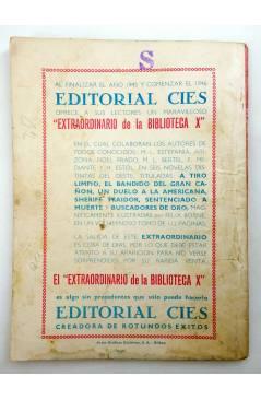 Muestra 1 de BIBLIOTECA X. NOVELAS DE VAQUEROS 33. EL MEJICANO (Arizona) Cies 1945