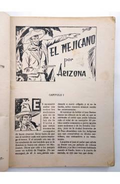 Muestra 2 de BIBLIOTECA X. NOVELAS DE VAQUEROS 33. EL MEJICANO (Arizona) Cies 1945