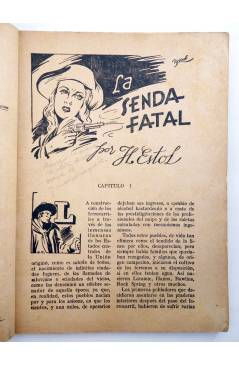 Muestra 2 de BIBLIOTECA X. NOVELAS DE VAQUEROS 36. LA SENDA FATAL (H. Estol) Cies 1946