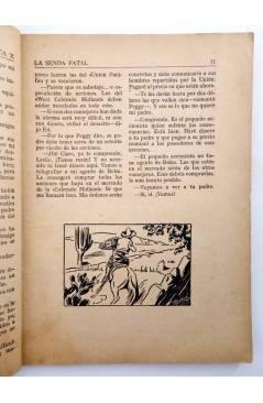 Muestra 3 de BIBLIOTECA X. NOVELAS DE VAQUEROS 36. LA SENDA FATAL (H. Estol) Cies 1946