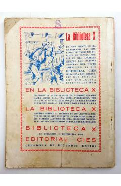 Muestra 1 de BIBLIOTECA X. NOVELAS DE VAQUEROS 39. EL RENEGADO (E. Mediante) Cies 1946