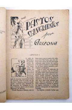 Muestra 2 de BIBLIOTECA X. NOVELAS DE VAQUEROS 40. PASTOS SANGRIENTOS (E. Mediante) Cies 1946