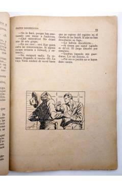 Muestra 3 de BIBLIOTECA X. NOVELAS DE VAQUEROS 40. PASTOS SANGRIENTOS (E. Mediante) Cies 1946
