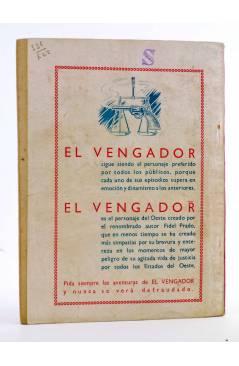 Contracubierta de BIBLIOTECA X. NOVELAS DE VAQUEROS 43. VIVA TEXAS (H. Estol) Cies 1946